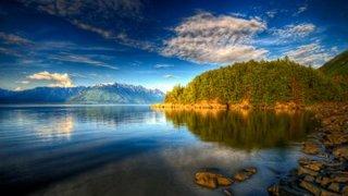 lake-blue-sky-trees
